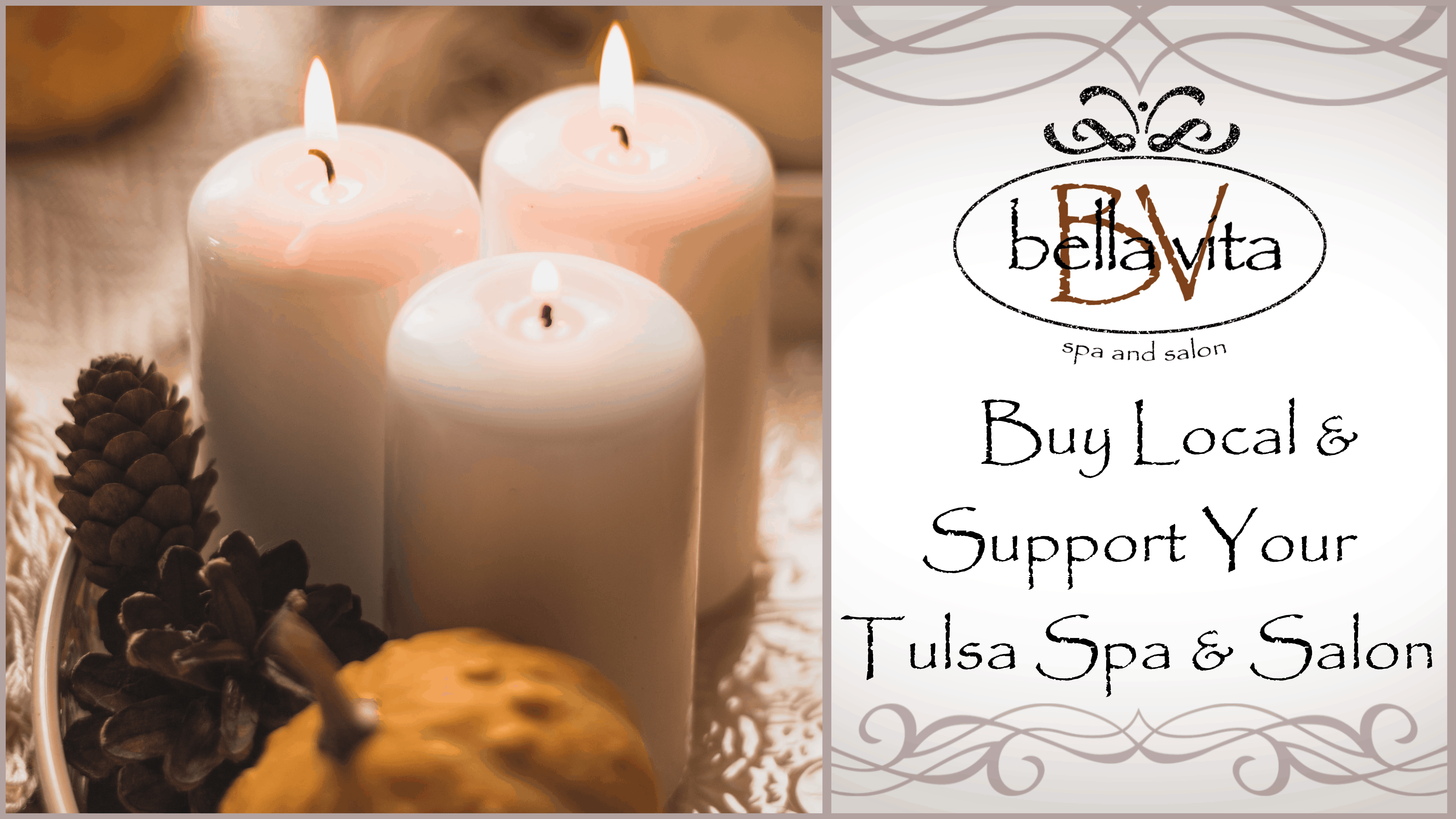 Buy Local & Support Your Tulsa Spa & Salon